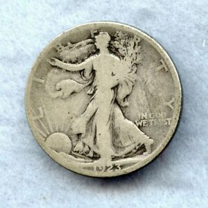 1923 S   WALKING LIBERTY HALF DOLLAR   G