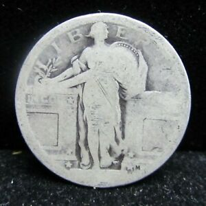 1917 P STANDING LIBERTY QUARTER   NO DATE