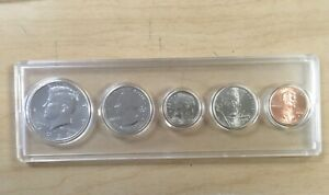 2020 PDS MINT SET BIRTH SET IN NEW EM HOLDER; 5 BU/MS COINS; HALF DOLLAR  PENNY