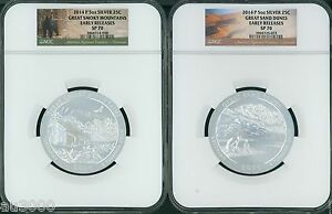 Click now to see the BUY IT NOW Price! 2014 P 5 COINS SET ATB NP 5 OZ SILVER NGC SP70 EARLY FIRST RELEASES E.R.