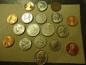 COIN LOT  1    >>  AT THE PICTURES FOR DATES      VALUE