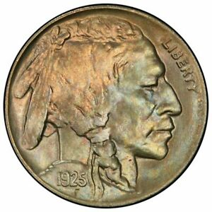 Click now to see the BUY IT NOW Price! 1925 5C BUFFALO NICKEL PCGS MS67