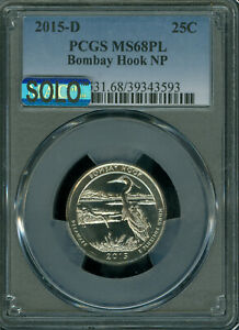 Click now to see the BUY IT NOW Price! 2015 D BOMBAY HOOK PCGS MS68 PL MAC SOLO FINEST & MAC SPOTLESS