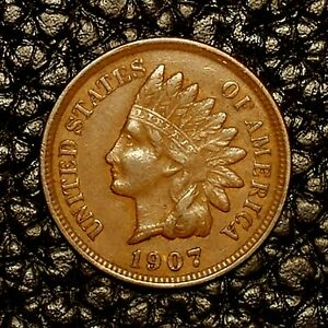 ITM 2698  1907 INDIAN HEAD CENT   XF CNDTN   $20 ORDERS SHIP FREE