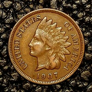 ITM 2699  1907 INDIAN HEAD CENT   XF CNDTN   $20 ORDERS SHIP FREE