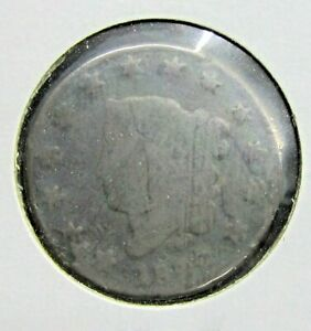 1822 U.S. LARGE CENT CENT   LOWER GRADE