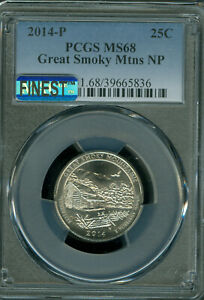 Click now to see the BUY IT NOW Price! 2014 P GREAT SAND DUNES QUARTER PCGS MAC MS 68 MAC FINEST & SPOTLESS