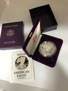 1988 S AMERICAN SILVER EAGLE PROOF WOW SAVE ON SHIP