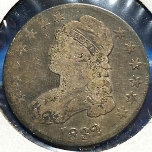 1832 50C CAPPED BUST HALF DOLLAR  57781