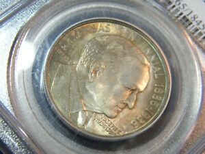 1936 ROBINSON ARKANSAS PCGS MS 65 CAC FANTASTIC PQ ORIG GEM IN 20YR OLD HOLDER