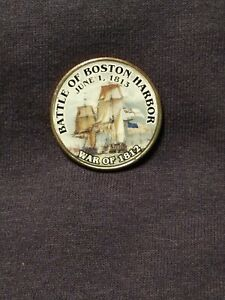 COLLECTIBLE US FIFITY CENT PIECE COMEMORATING THE WAR OF 1812