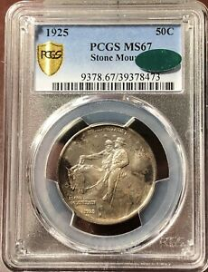 Click now to see the BUY IT NOW Price! CLASSIC COMMEMORATIVE STONE MOUNTAIN MEMORIAL 1925 P PCGS MS 67   STONE MOUNTAIN
