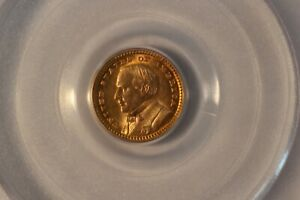 1903 LOUISIANA PURCHASE EXPOSITION MCKINLEY COMMEMORATIVE GOLD $1   PCGS MS64