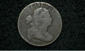 1801 LARGE CENT   1/000 FRACTION    S 220    VG DETAIL    CUD OVER 'RT'