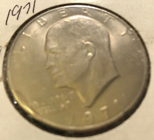 1971 P EISENHOWER DOLLAR   WITH