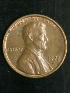1972 D LINCOLN MEMORIAL CENT DBL. ODV.