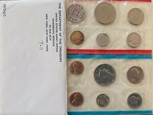 1972 P AND D SET UNCIRCULATED COIN SET W/ LINCOLN ERROR RIDDED EDGE SEE PICTURE