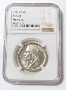 Click now to see the BUY IT NOW Price! CLASSIC COMMEMORATIVE DANIEL BOONE BICENTENNIAL 1937 S NGC MS 66 PL  BOONE