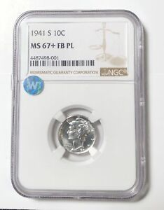 Click now to see the BUY IT NOW Price! DIMES WINGED LIBERTY HEAD OR MERCURY 1941 S NGC MS 67  FB PL