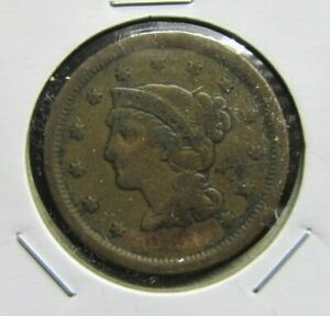 1850? U.S.LARGE CENT   LOWER GRADE TYPE COIN