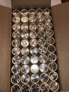 Click now to see the BUY IT NOW Price! 50 ROLLS OF UNCIRCULATED 2002 AND 2003 LOOMIS BANK ROLLED NIFC HALF DOLLARS
