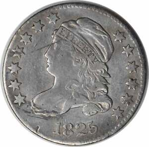 1825 BUST SILVER DIME EF UNCERTIFIED