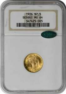 1926 SESQUICENTENNIAL $2.50 GOLD MS64 NGC  CAC