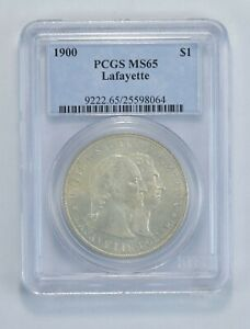 MS65 1900 LAFAYETTE COMMEMORATIVE DOLLAR   GRADED PCGS  5774