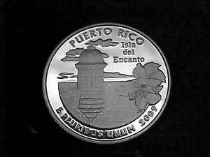 2009 S  PUERTO RICO  QUARTER FROM  PROOF SET