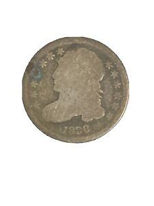 EARLY   1836   CAPPED BUST DIME   EAGLE REVERSE   TOUGH   US TYPE COIN