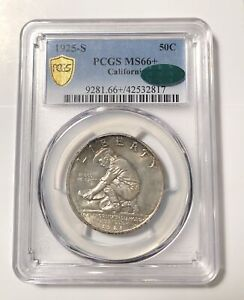 Click now to see the BUY IT NOW Price! CLASSIC COMMEMORATIVE CALIFORNIA DIAMOND JUBILEE 1925 S PCGS MS 66   CAC CALIFOR