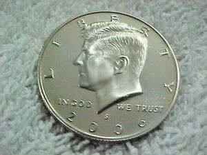 11   2006 S  PROOF KENNEDY HALF DOLLARS FROM PROOF SETS
