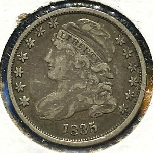 1835 10C CAPPED BUST DIME  61356