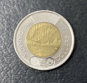 1867 2017 CANADIAN TWO DOLLAR | TOONIE | 150 YEARS