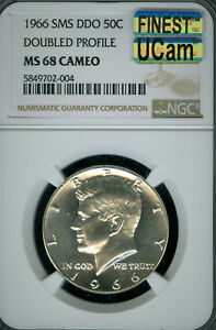 Click now to see the BUY IT NOW Price! 1966 DDO KENNEDY HALF DOLLAR NGC MS 68 CAM MAC UCAM FINEST & SPOTLESS