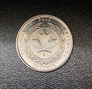 2006 CANADIAN QUARTER | 25 CENTS | FAIR CONDITION | CHECK MY COINS  BRAVERY