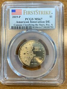 Click now to see the BUY IT NOW Price! 2019 P $1 CANNON CLASSIFYING THE STARS FIRST STRIKE PCGS MS67 POS A