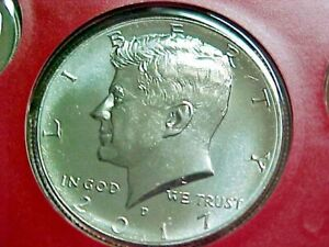 2017 D KENNEDY HALF DOLLAR FROM US MINT SET SET  UNCIRCULATED