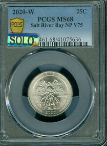 Click now to see the BUY IT NOW Price! 2020 W SALT RIVER BAY QUARTER NGC MS68 MAC SOLO FINEST SPOTLESS 1 IN 2 MILLION