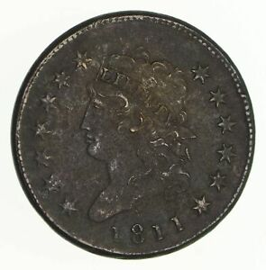 1811 CLASSIC HEAD LARGE CENT   CIRCULATED  4720