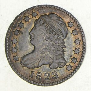 1823/2 CAPPED BUST DIME  3495