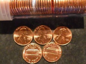 1981 P LINCOLN CENT PENNY CHOICE/GEM BU ROLL UNCIRCULATED