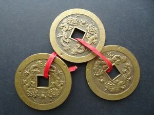 CHINESE SET OF 3 CASH COINS
