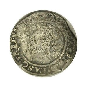 ELF  GREAT BRITAIN 3 PENCE CIRCA 1561 ELIZABETH I