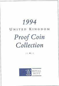 1994 GREAT BRITAIN 8 COIN 2 PAGE C.O.A. DOCUMENT SET