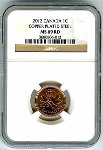 Click now to see the BUY IT NOW Price! 2012 CANADA CENT NGC MS69 RD MAGNETIC STEEL HIGH GRADE LAST YEAR OF ISSUE