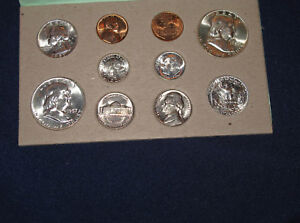 Click now to see the BUY IT NOW Price! 1957 UNITED STATES SILVER MINT SET ORIGINAL GEM UNCIRCULATED SET OF 20 M1004