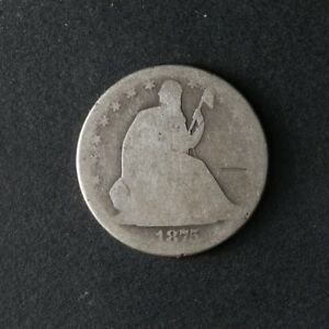 1875 CC SEATED HALF DOLLAR GREAT DEALS FROM THE TECC BARGAIN BIN