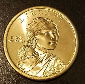 2014 D NATIVE AMERICAN  SACAGAWEA  GOLDEN DOLLAR  7556