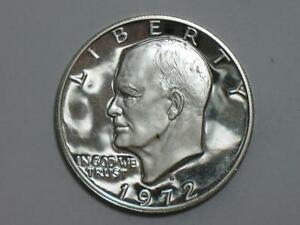 1972 S EISENHOWER DOLLAR   40  SILVER PROOF IKE